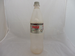 COCA COLA® LIGHT BOUTEILLE PLASTIQUE VIDE 2007 NORVEGE 1.5L - Bottles