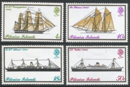 Pitcairn Islands. 1975 Mailboats. MH Complete Set. SG 157-160 - Stamps