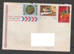 MAROC 1976-1977 N°YT 748 779  / Journée Du Timbre  Pièce Monnaie Ancienne  Marche Vertelettre Casablaca - Maroc (1956-...)