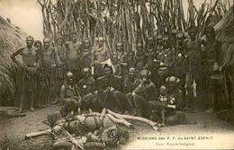 CONGO - Carte Postale - Cour Royale Indigène - Mission Des P.P. Du Saint Esprit - L 29284 - Congo Français - Autres