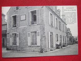 """14 - ARROMANCHES - """" GOUDOT  HOTEL DE LA MARINE """" - BORD DE LA PLAGE, CHAMBRE NOIRE POUR LA PHOTOGRAPHIE - """" TRES RARE - Arromanches"""