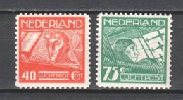 Netherlands 1928 NVPH AIRMAIL LP4-5 MNH - Airmail