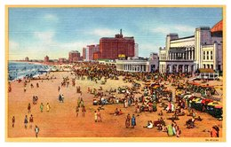 Etats Unis - Atlantic City - Beach Front Of Hotels - Atlantic City