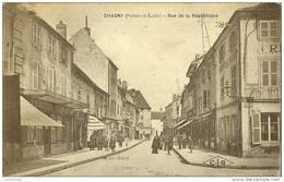 71 - CHAGNY / RUE DE LA REPUBLIQUE - Chagny