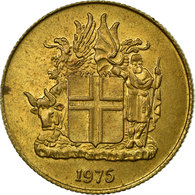 Monnaie, Iceland, Krona, 1975, TTB, Nickel-brass, KM:12a - Islande