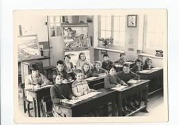 Photo Intérieur De Classe Avec éleves Année 50 / 60 - Fotografia