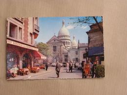 PARIS Montmartre La Place De Tertre Et L'Eglise Saint Pierre CPA Carte Postale France - France
