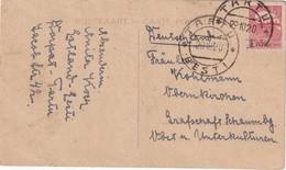 ESTONIE 1920  CARTE DE TARTU - Estonie