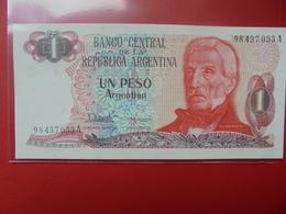ARGENTINE 1 PESO 1983-84 PEU CIRCULER - Argentine