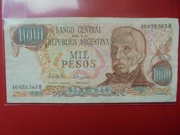 ARGENTINE 1000 PESOS 1976-83 PEU CIRCULER - Argentine