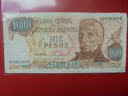 ARGENTINE 1000 PESOS 1976-83 PEU CIRCULER - Argentina