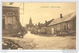 71 - LE CHALAU / RUE DE L'EGLISE - France