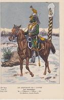 Uniformes Du 1er Empire Officier Du 7eme Régiment 1812 ( Tirage 400 Ex ) - Uniformes