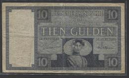 Netherlands  10 Gulden 1-3-1924 - 6-5-1932 - NR XD 005740 - 28 1d - See The 2 Scans For Condition.(Originalscan ) - [2] 1815-… : Kingdom Of The Netherlands