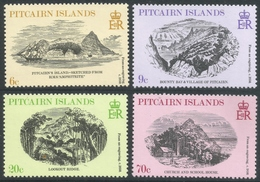 Pitcairn Islands. 1978 19th Century Engravings. MH Complete Set. SG 196-199 - Stamps