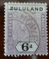 #38A# ZULULAND YVERT 18 USED. - Zululand (1888-1902)