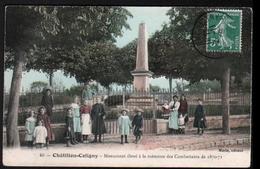 45, Chatillon Coligny, Monument Eleve à La Memoire Des Combattants De 1870-71 - Chatillon Coligny