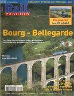 Revue RAIL PASSION N°85, Bourg/Bellegarde, BB 66400, LGV Est, Nord-Pas De Calais, Indicateurs-enregistreurs Vitesse - Spoorwegen En Trams
