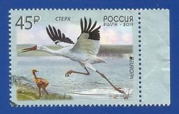 Russland / Russia 2019 , EUROPA CEPT Birds - Gestempelt / Used / (o) - 2019