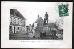 45, Chatillon Coligny, Place Statue Becquerel - Chatillon Coligny