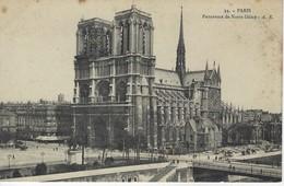 75 ( Paris ) - PARIS - Panorama De Notre Dame - Notre Dame De Paris