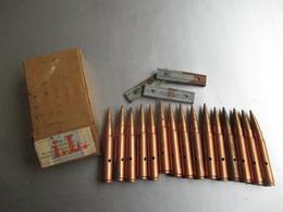 Boite De 15 Cartouches Mauser 1940 -p162 - Decorative Weapons