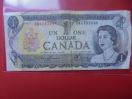 CANADA 1$ 1973 CIRCULER - Canada