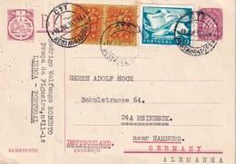 PORTUGAL 1955    ENTIER POSTAL/GANZSACHE/POSTAL STATIONERY CARTE DE LISBONNE - Postwaardestukken