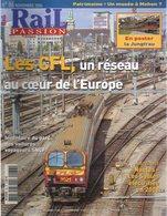 Revue RAIL PASSION N°86, CFL, Nantes/Sables-d'Olonne, Metz/Réding, Corail Lunéa, Trains De Nuit, Mohon, Chambéry - Spoorwegen En Trams