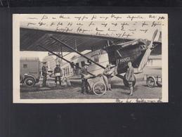 Dt. Reich AK Lufthansa Post 1935 - Post & Briefboten