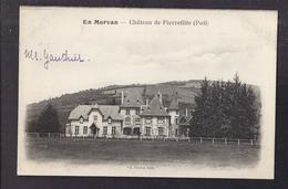 CPA 58 - PIERREFITTE - - EN MORVAN - Château De Pierrefitte ( Poil ) - TB PLAN EDIFICE - Otros Municipios