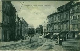 CAGLIARI - CORSO VITTORIO EMANUELE - TRAM - EDIZ. G. DESSI - 1920s (3242) - Cagliari