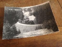 DAMPFLOK - GRUSS AUS ERZGEBIRGE - KURORT OBERWIESENTHAL - 1966 - Trains