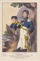 Uniformes Du 1er Empire Chef D'escadron à Wagram 1809 ( Tirage 400 Ex ) - Uniformen