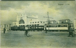CAGLIARI - IL LIDO - TRAM  - EDIZ. G. DESSI - 1920s (3244) - Cagliari