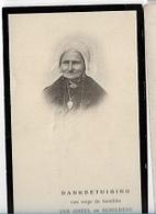 DI/M/ ° SCHILDE 1833 + RANST 1914  ANNA VAN GHEEL  Met Foto - Religion & Esotérisme