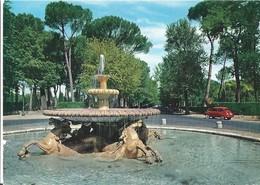 CPA ROME -jardin Borghese -fontaine Des Chevaux -fontana Dei Cavalli - Parks & Gardens