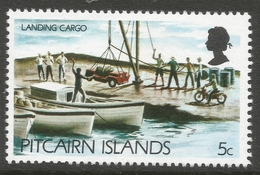 Pitcairn Islands. 1977 Definitives. 5c MH. SG 176 - Stamps