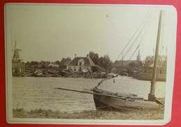 1876-1890 Photo Format Cabinet Groningen Nederland Pays-Bas Dos Scanné éditeur Joh.G.Kramer - Photos