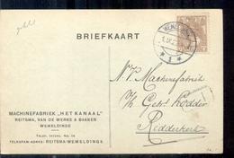 Wemeldinge Machinefabriek Het Kanaal Rietsma Vd Werke Bakke - 1891-1948 (Wilhelmine)
