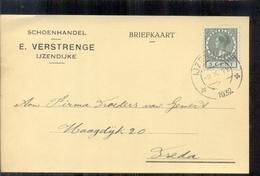 IJzendijke - Schoenhandel - E Verstrenge - 1932 Sluis - Briefe U. Dokumente