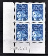 FRANCE  1997 - BLOC DE 4 TP COIN DE FEUILLE / Y.T. N° 3095 - NEUFS** - France