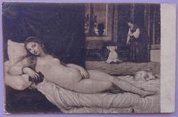TIZIANO VECELLIO (Titian) - Venere Detta Del Cagnolino - Firenze, Galleria Degli Uffizi  Nv - Pittura & Quadri