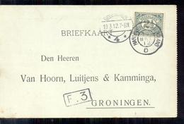 Groningen - Van Hoorn Luitjens & Kamminga - 1912 - Groningen