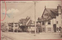 De Panne La Panne Boulevard De Dunkerque Duinkerque RARE Zeldzaam Geanimeerd (kreuk) - De Panne