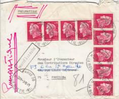 FRANCE - 1955 - Pneumatique - Trouvé à La Boîte - France