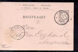 Dongen - J Bressers - Huiden Leder En Schors - 1896 - Periode 1891-1948 (Wilhelmina)