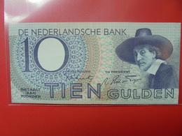 PAYS-BAS 10 GULDEN 1943 PEU CIRCULER - [2] 1815-… : Kingdom Of The Netherlands