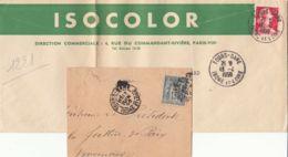 FRANCE - 1896-1959 - Lot De 2 Lettres De Tours-gare - Frankreich