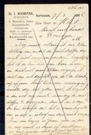 Surhuizum - Sj J Veenstra Veevoeder Hulpmeststoffen 1906 - 1891-1948 (Wilhelmine)